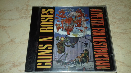 cd guns n roses appetite for destruction novo