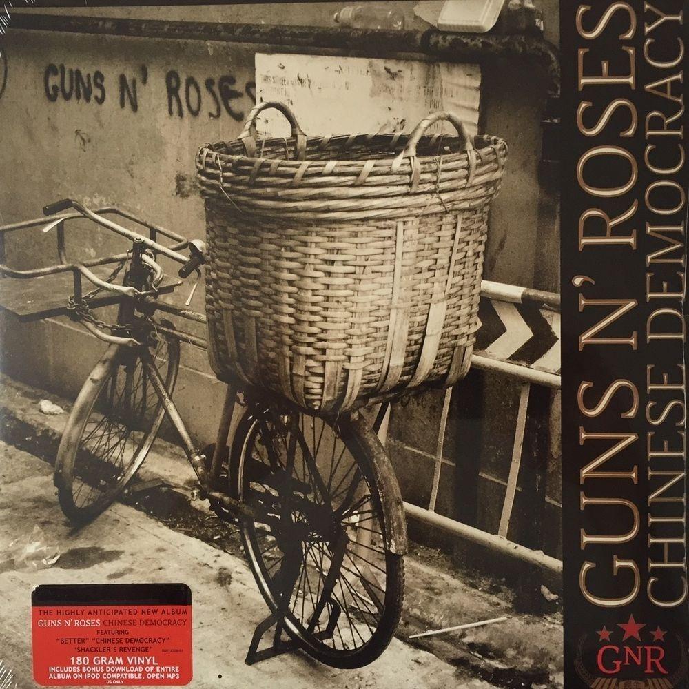Cd Guns N Roses Chinese Democracy Lacrado C2
