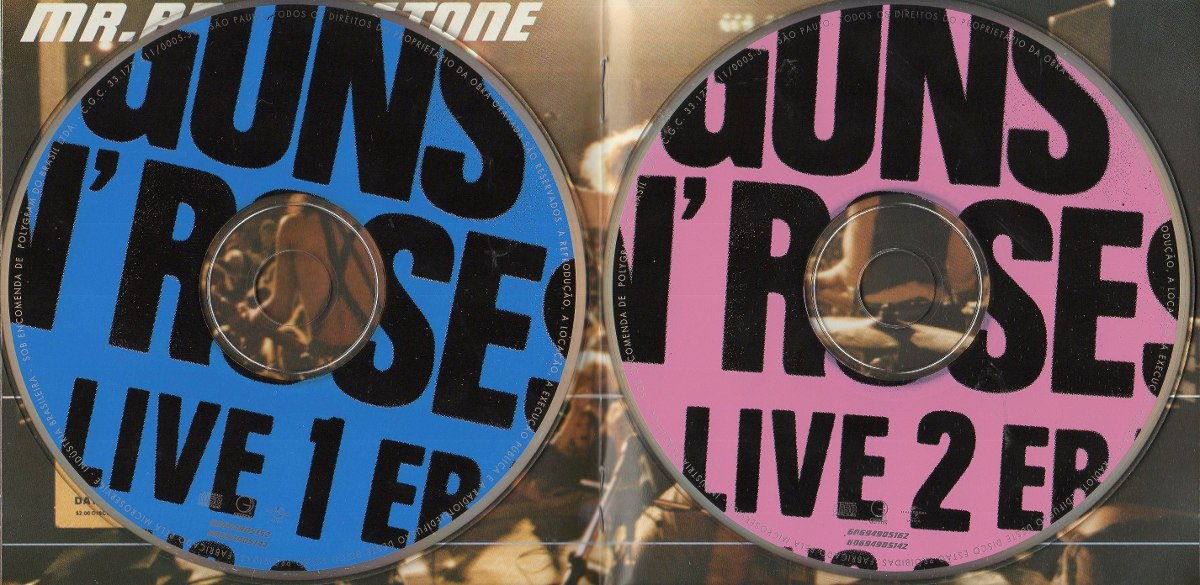 cd guns n roses live era 8793 r 6000 em mercado