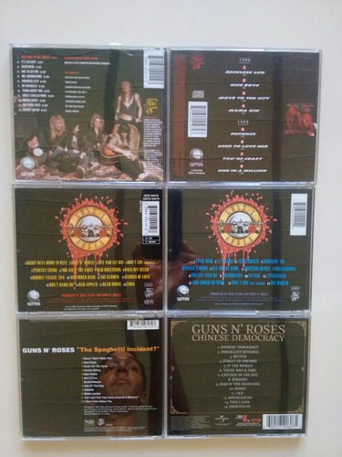 cd guns & roses