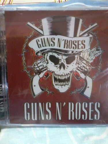 cd guns roses lacrado