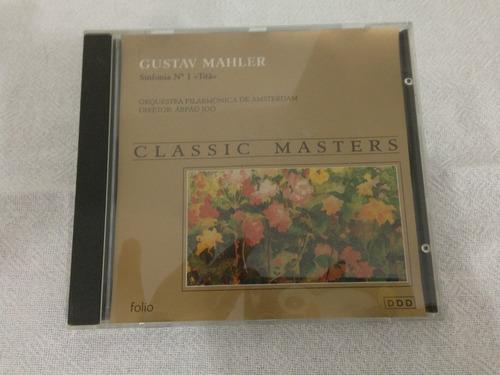 cd  gustav mahler  classic  masters