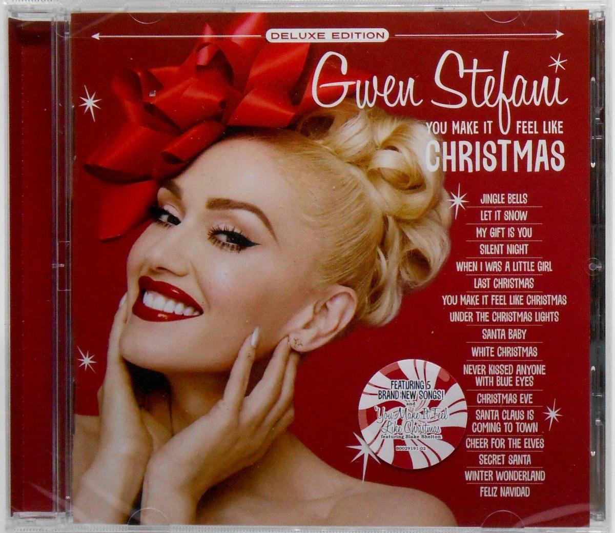 Gwen Stefani Christmas Cd.Cd Gwen Stefani You Make It Feel Like Christmas 2018 Deluxe