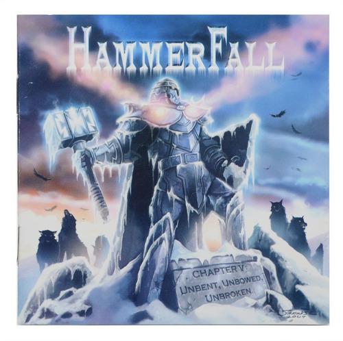 cd hammerfall - chapter v: unbent, unbowed, unbroken importa