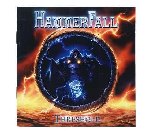 cd hammerfall - threshold importado