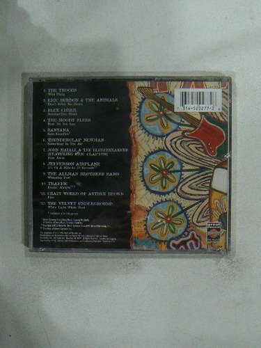 cd hard rock essentials año 1994 printed in usa the troggs b