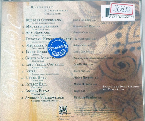 cd harpestry - a contemporary collection #130