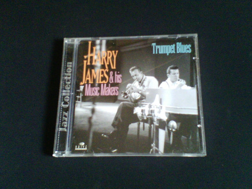 cd  harry james & his music makers - trumpet blues