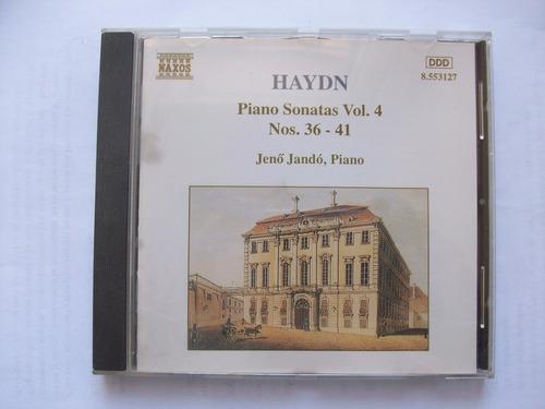 cd haydn - piano sonatas vol.4 nºs. 36-41