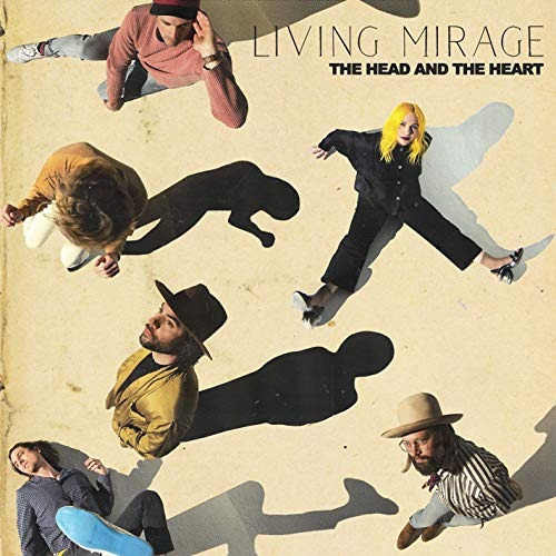 cd : head and the heart - living mirage (cd)
