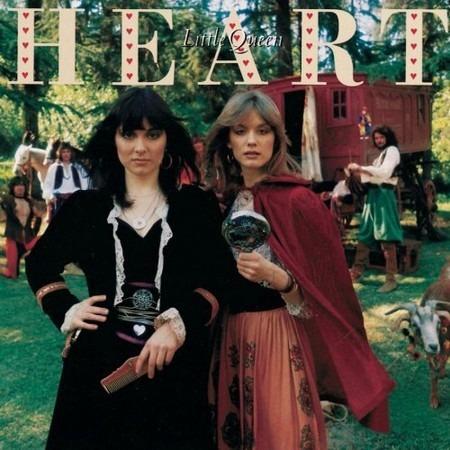 cd heart - little queen.   edición usa