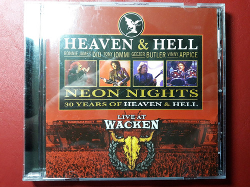 cd heaven and hell - neon nights - live at wacken