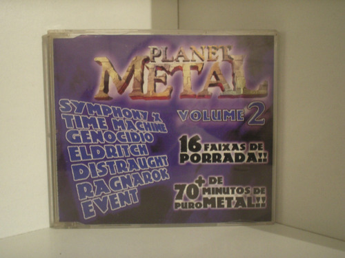 cd heavy metal volume 2 # diversos