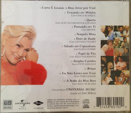 cd - hebe camargo - como é grande o meu amor por vocês