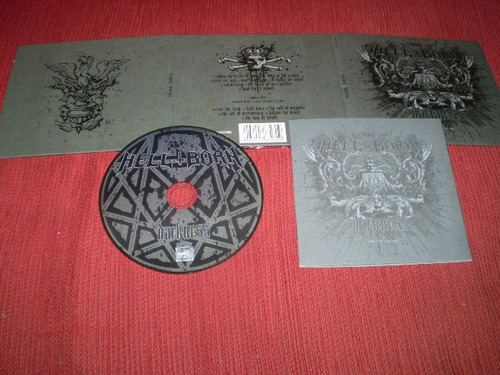 cd hellborn - darkness vader behemoth belphegor amon amarth