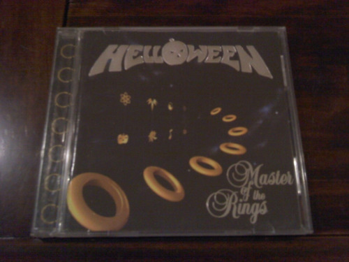 cd helloween / master of the rings