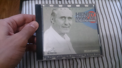 cd henry mancini - the mancini pops orchestra