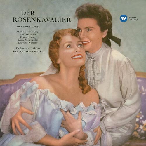 cd : herbert von karajan - r.strauss: der rosenkavalier (cd)