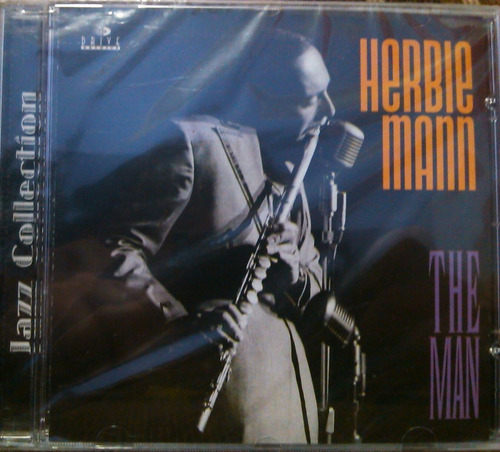 cd herbie mann - the man - lacrado de fabrica