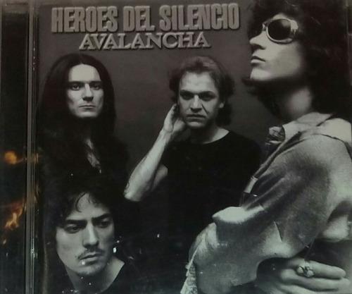 cd héroes del silencio avalancha el dorado - derivas