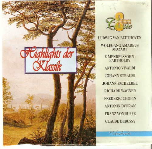 cd highlights der klassik - semi novo***