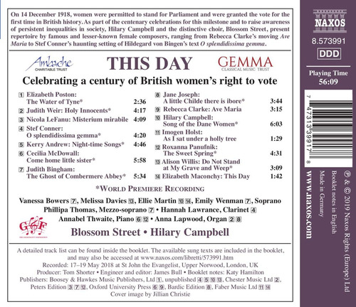 cd : hilary campbell - blossom street - this day (cd)