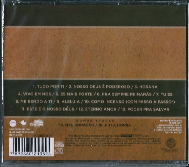 cd global project - diante do trono