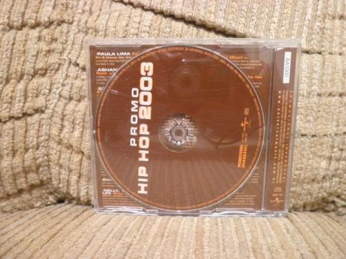 cd hip hop 2003 promo paula lima 50 cent e outros