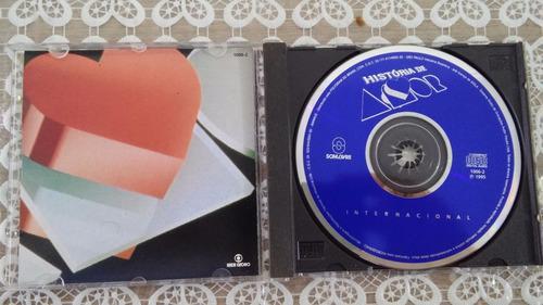 cd - história de amor - internacional - raro