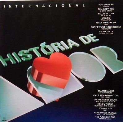 cd - história de amor  internacional - trilha sonora