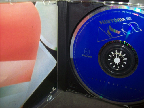 cd - historia de amor - novela - internacional - 1995