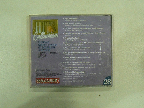cd hits collection n 28 tony bennet p anka en la plata