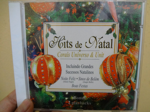 cd - hits de natal corais universo e unit - original