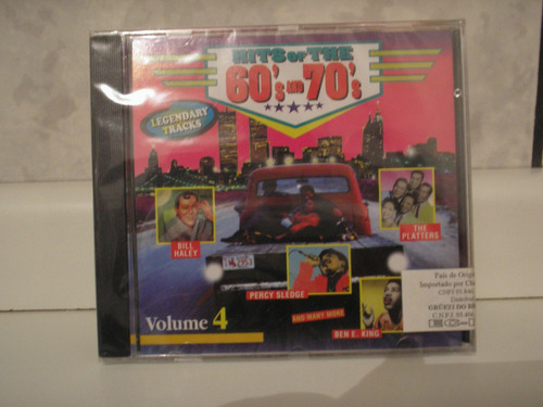 cd hits of the 60's and 70's # vários (internacional) import