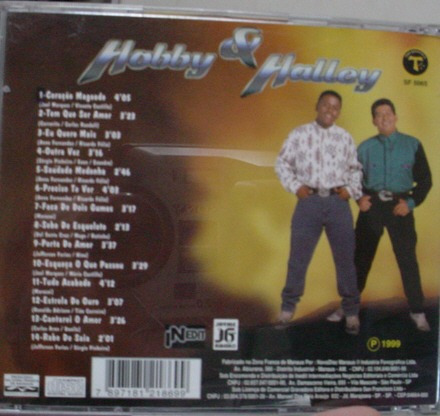cd   hobby  &  halley    -   b105