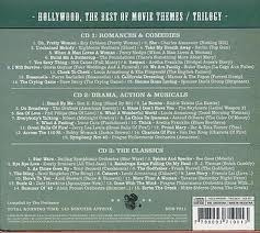 cd hollywood the best of movie themes trilogy - 3cd digipac