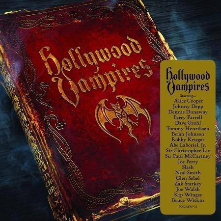 cd hollywood vampires - album (2015) lacrado