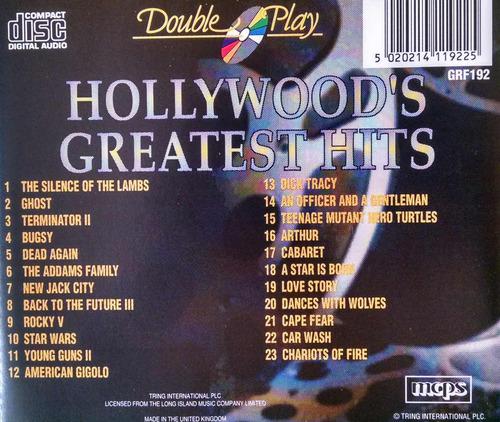 cd hollywood's greatest hits vol. 1 - usado
