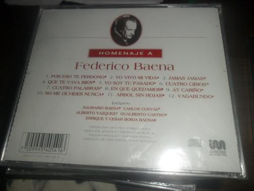 cd homenaje a federico baena alberto vazquez carlos cuevas