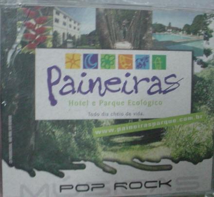 cd  hotel paineiras pop rock nacional  - b208b204