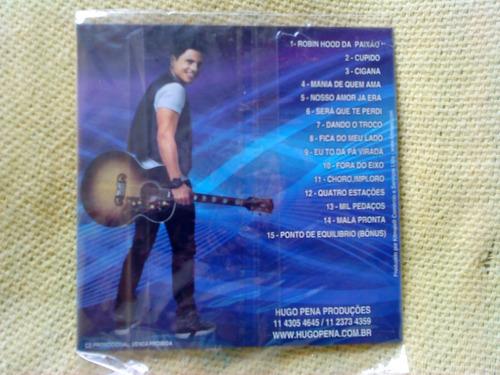 cd hugo pena - exclusivo - 1ª edição 2012 - raro lacrado