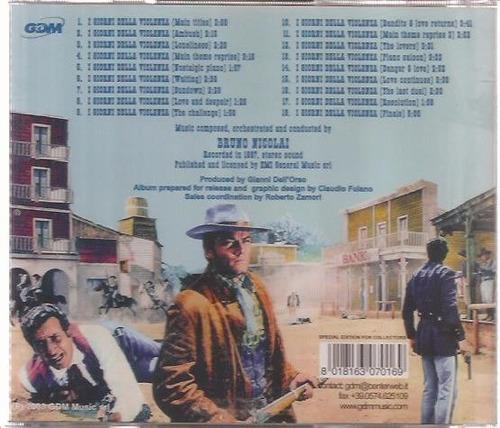 cd i giorni della violenza - bruno nicolai - importado