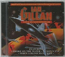 cd ian gillan band - live in nottinghan (usado/otimo)