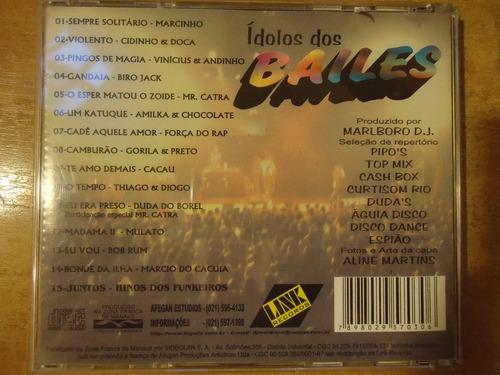 cd-ídolos dos bailes-o melhor do new funk-dj.marlboro-lacrad