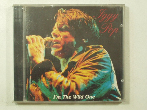 cd iggy pop i´m the wild one año 1992 bootleg italy real wil