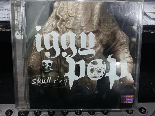 cd iggy pop - skull ring