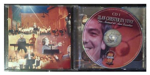 cd - ilan chester en vivo! - cd mania - (2cds) - original