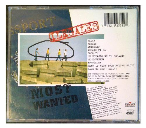 cd - ilegales - en la mira - 1998 - original