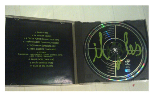 cd - ilegales - remixes - 1998 - original