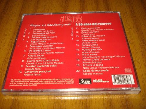cd illapu / parque la bandera (nuevo y sellado) 2 cd